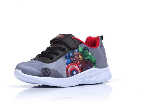 Zapatillas Atomik Niños Marvel Deportivo Velcro Av Mvl