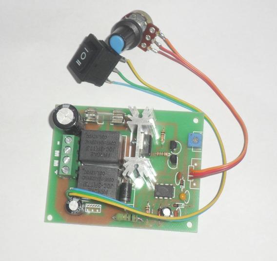 Placa Controladora Pwm Para Motor Dc 12v 10 A Com Inversão