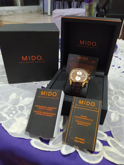 Mido Multifort Chronograph Automatic M005.614.36.291.19