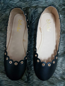 Zapatos Mujer Dama Negros Joki Estoperoles Dama Talla 3