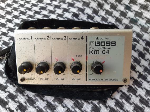 Micro Mixer Boss - 4 Canais ( Sem Teste )