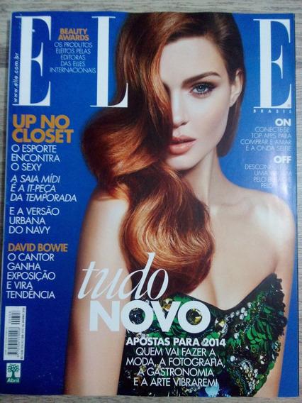 Revista Elle Brasil Jan/14 David Bowie - Kate Moss