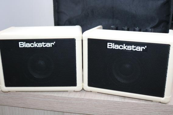 Mini Amplificador Blackstar Fly3 + Fly103 Combo Na Caixa