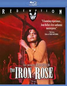 Blu-ray The Iron Rose Redemption Novo Lacrado