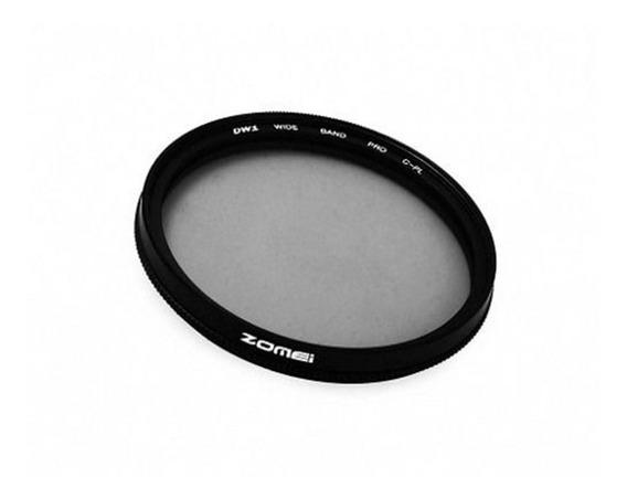 Filtro Cpl Polarizador Zomei 49mm P/ Canon 50mm F/1.8 Stm