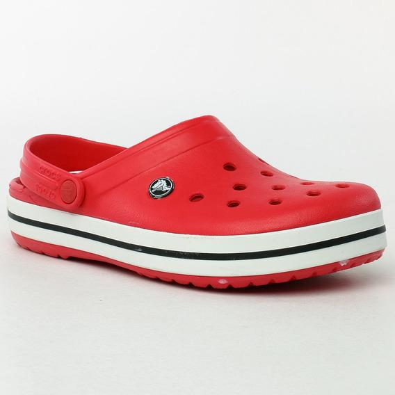 Suecos Crocband Red Crocs Sport 78