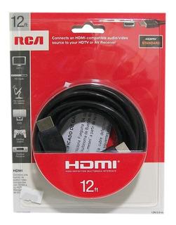 Cable Hdmi 3.6mt Rca 1080p Vh12hhr
