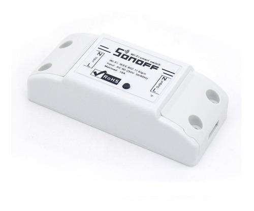 Domotica Interruptor Inalambrico Sonoff Wifi Control Celular