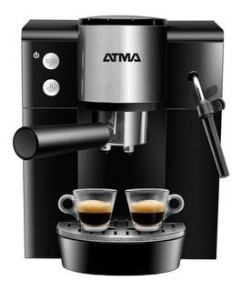 Cafetera Atma Ca9196 Negra/plata 220v