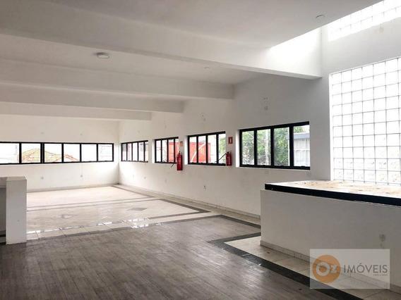 Salão Para Alugar, 180 M² Por R$ 2.600/mês - Km 18 - Osasco/sp - Sl0008