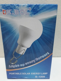3 Lampadas Solar + Placa Solar Melhor Marca Bk Bol