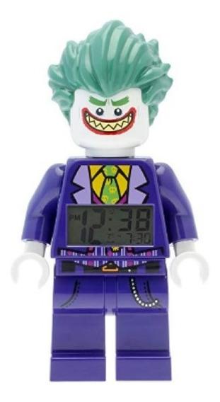 Lego Robin Hoker Reloj Alarma Luz Dc Comics Envío Gratis