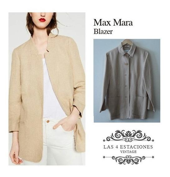 Blazer De Lino Importado. Max Mara
