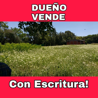 Vendo Lotes En Mariano Acosta Dueño Directo Con Escritura.