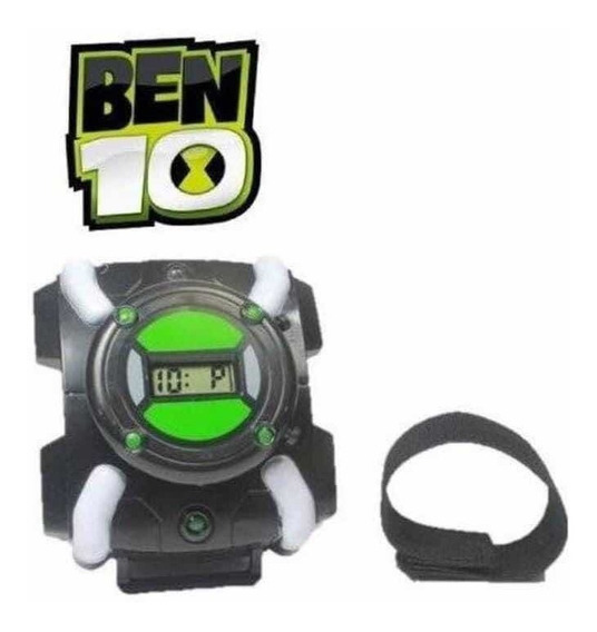 Relógio Ben 10 Infantil Omnitrix C/ Som E Luz - Omniverse