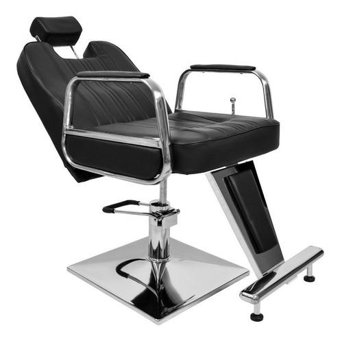 Imagen 1 de 8 de Sillón Reclinable Para Barbero Modelo Inglés Marca Famusa