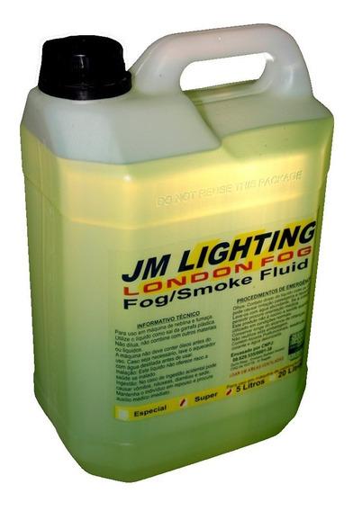 Líquido Fluido Para Maquina De Fumaça 10l Jm Light Super
