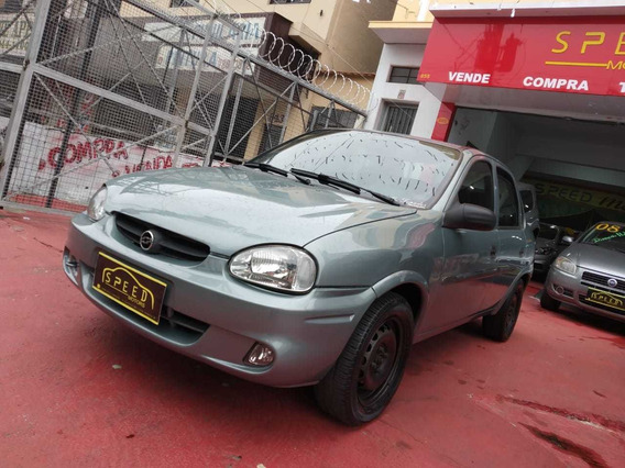 Gm - Chevrolet - Corsa Sedan 1.6 - 2003-financiamento -troca