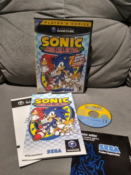 Sonic Mega Collection Game Cube