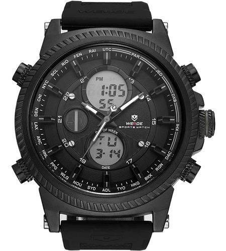 Relógio Masculino Weide Anadigi Preto 10467