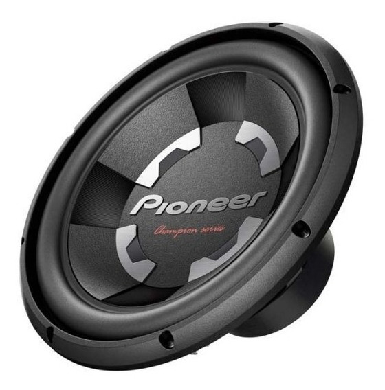 Pioneer Woofer 12 Pulgadas Ts300d4 1400 Watts Doble Bobina