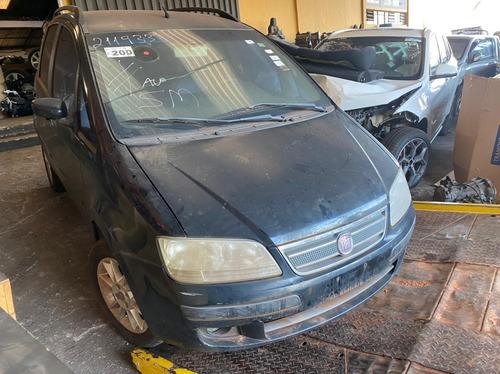 Sucata Para Pecas Fiat Idea 1.4 Elx 2009 2010