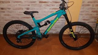 Bicicleta Enduro Carbono Santa Cruz Nomad C 2017