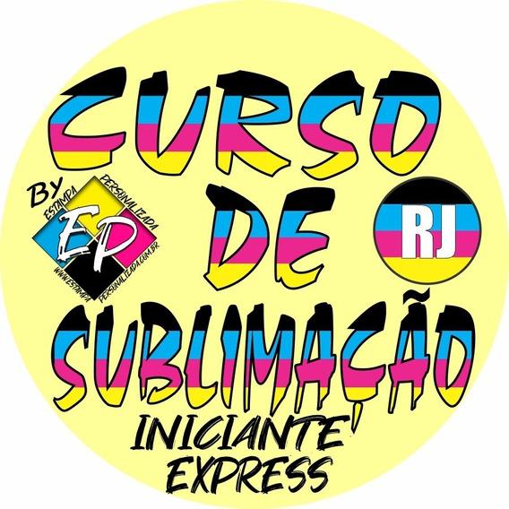 Curso De Sublimação Rj Ep Iniciante Express: Presencial