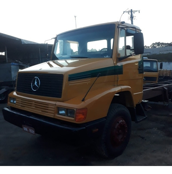 Caminhão Mb 1618 6x2 Ano 2001