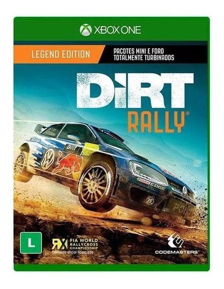 Dirt Rally Legend Edition Xbox One Mídia Física Novo Lacrado