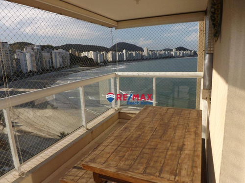 Imagem 1 de 27 de Frente Mar  Varanda Gourmet  Andar Alto  Lazer  2 Elevadores  Portaria 24 Horas  Local Privilegiado 3 Dormitórios (suíte) Astúrias, Guarujá/sp - Ap1738