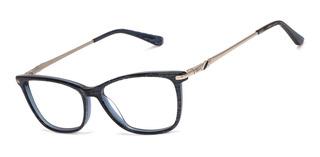 Armação Oculos Ogrife Og 1661-c Feminino Com Lente Sem Grau
