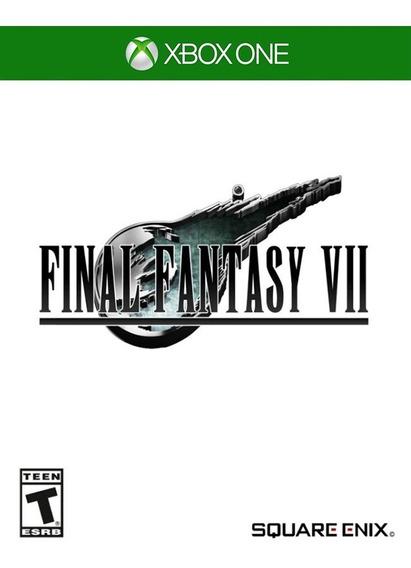 Final Fantasy Vii - Xbox One (25 Dígitos)