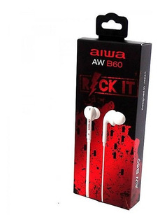 Audífonos Aiwa B60 In-ear Con Cable