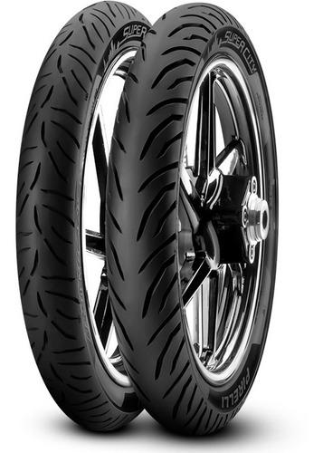 Imagen 1 de 1 de Cubiertas Pirelli 250 X 17 + 80 100 14 Super City Fas Motos