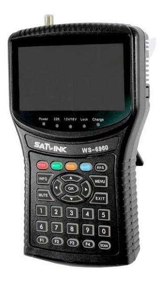 Localizador Satélite Dvb S2 Satlink 6960 Hd . Original Ses6