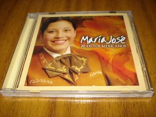 Cd Maria Jose / 20 Exitos Mexicanos (nuevo Y Sellado)