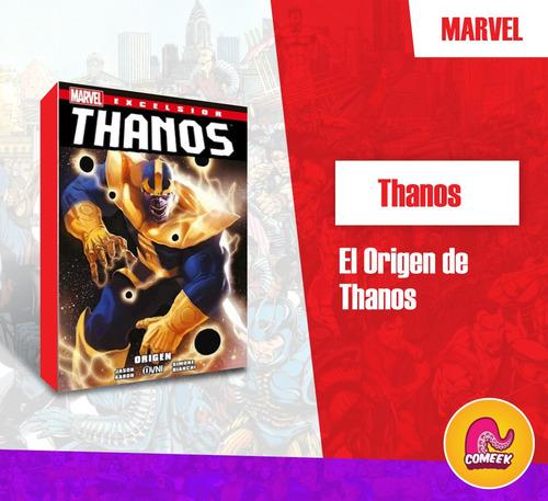Comic El Origen De Thanos Español Latino
