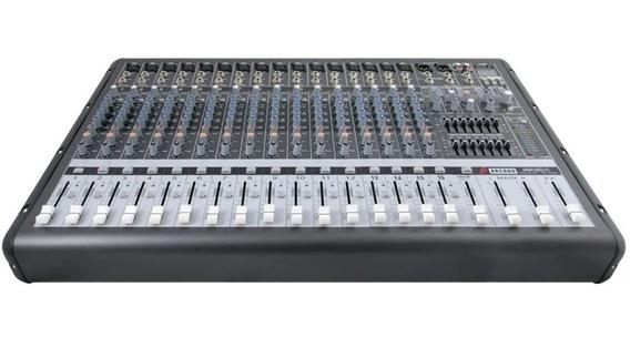 Sj Mesa Arcano Amplificada Armr16eq-fx 16 Xlr E Usb In 110v