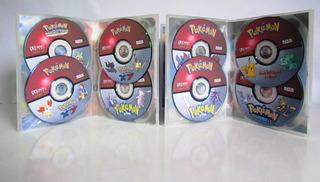 Box Dvd Pokémon Todas As Sagas Dublado Completo + Filmes