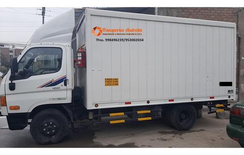 Alquiler Y Servicios De  Distribución Camión Furgón