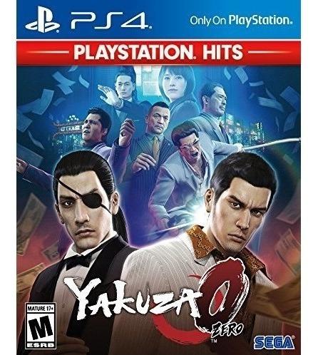 Yakuza 0 Playstation Hits Ps4 Mídia Física Novo Lacrado