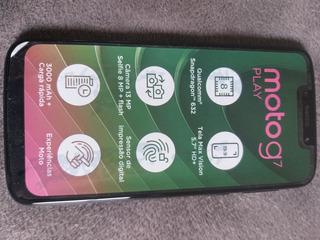 Celular Motorola Moto G7 Play Usado Em Perfeitas Condições