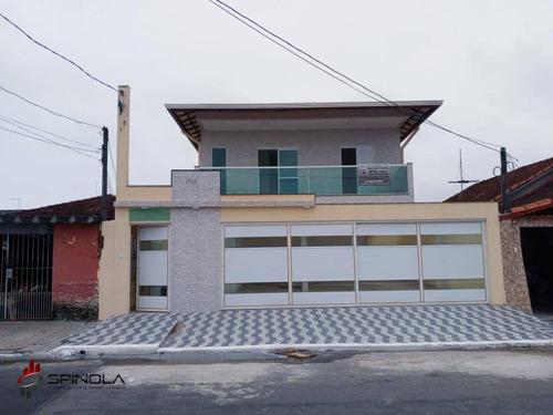 Imagem 1 de 21 de Casa Com 2 Dormitórios À Venda, 40 M² Por R$ 210.000,00 - Vila Caiçara - Praia Grande/sp - Ca1645