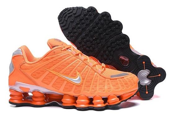 Zapatillas Nike Shox Tl1 Naranja