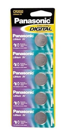 Bateria Panasonic Lithium 5 Un. Cr2032 10433