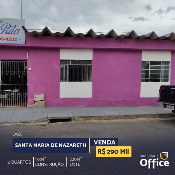 Casa Térrea Com 2 Quartos - Off412-v