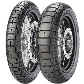 Par Pneu 90/90-21 + 150/70r18 Crf Scorpion Rally Str Pirelli