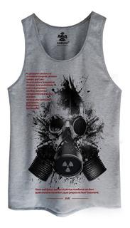Regata Camiseta Cavada Camisa Blusa Estampada Radioative