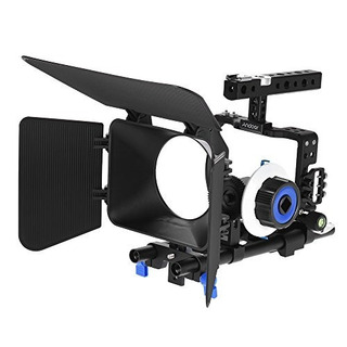 Andoer Pro Video Cage Rig Kit Sistema De Producción De Pelíc